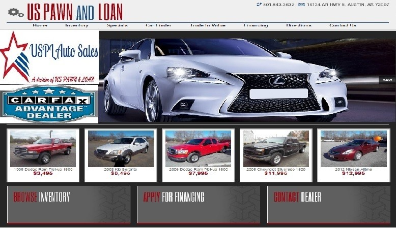 USPL Auto Sales Loan Application